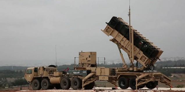 Nato Missle Defense System in Turchia sul confine siriano