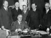 Roosevelt signs