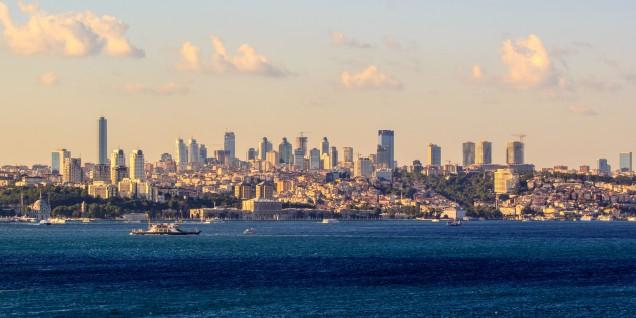 Istambul dal Bosforo