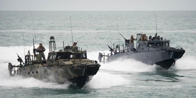 Navy fast boats