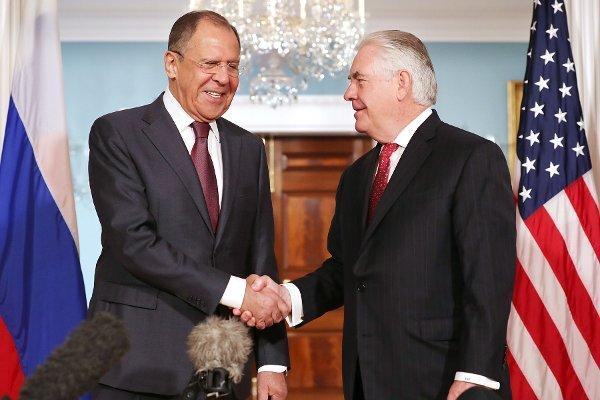 Tillerson Lavrov