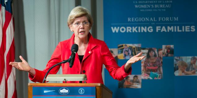 Elizabeth Warren working families