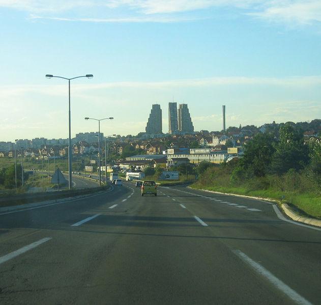Eastern gate_Belgrade