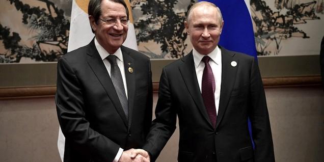 Nicos Anastasiades Putin