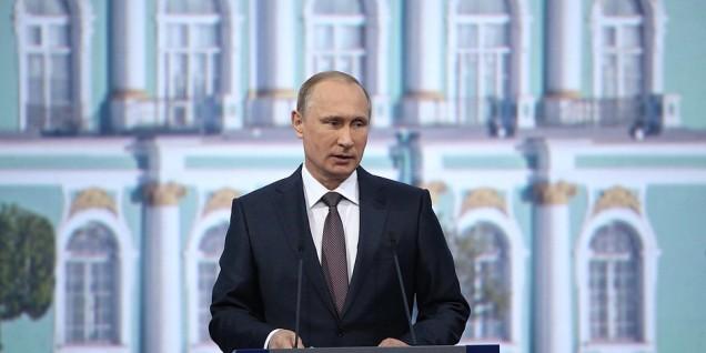 Putin St. Petersburg