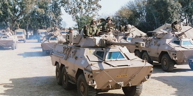 South-Africa army