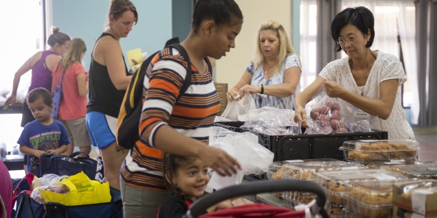 Food donations handed out across MCB Camp Pendleton