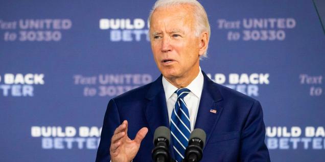 Biden build