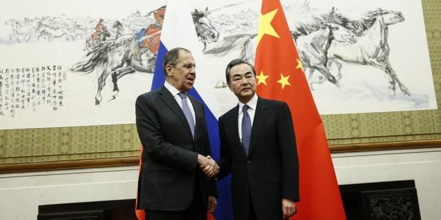 Sergey Lavrov and Wang Yi
